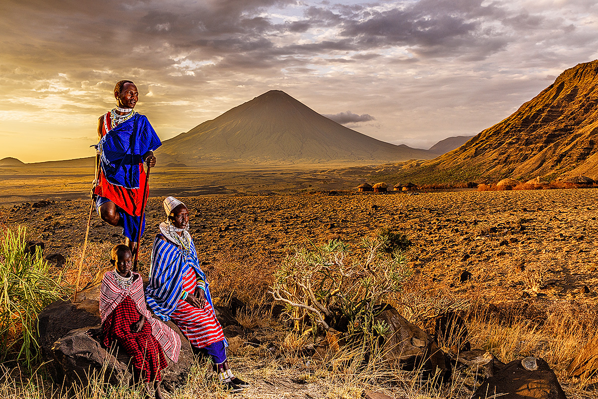 masai, the god of masai, Benny Rebel, Fotografie, Print, Afrika