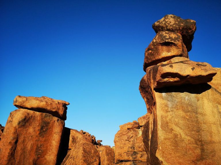 Fotosafari in Namibia - die Felsen des Gigant Playgrounds