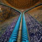 Livebericht: Fotoreise Iran, Moscheedetail