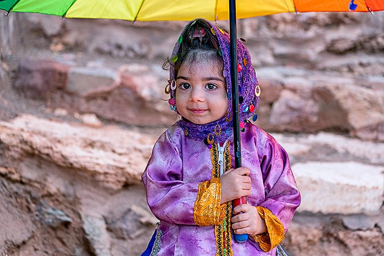 Kind Fotoreise Iran