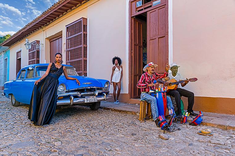 Fotoreise Kuba mit Oldtimern & Fotomodellen