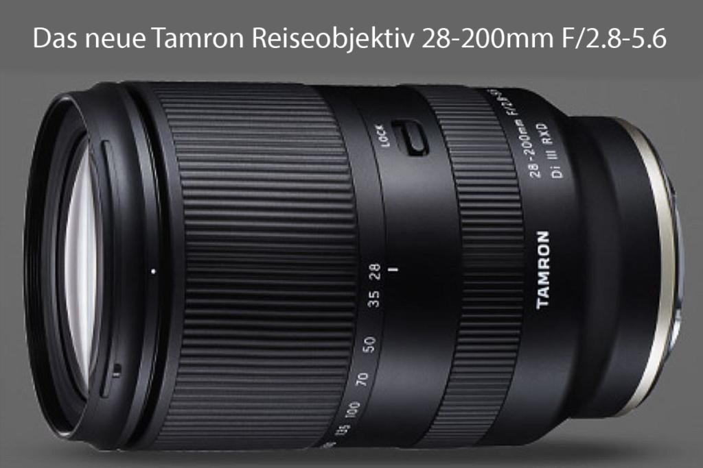 Tamron-28-200mm F 2,8-5,6 Reiseobjektiv - Zoomobjektiv für Sony