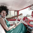 Unsere Fotomodelle und unsere Oldtimer in Kuba