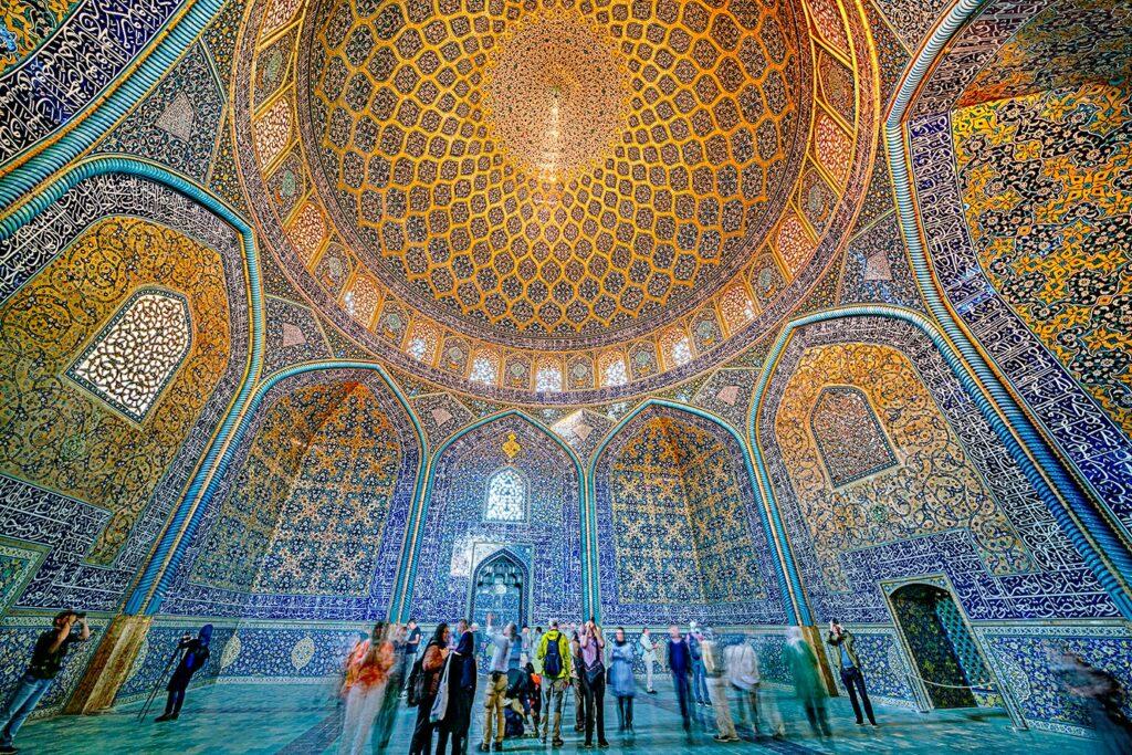 Moschee in Isfahan fotografiert von Benny Rebel auf einer Fotoreise mit Benny Rebel Fotosafaris GmbH