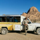 Das ist unser Rebel-Mobil in Namibia